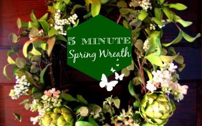Spring Wreath DIY
