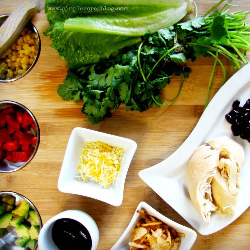 bbq salad ingredients