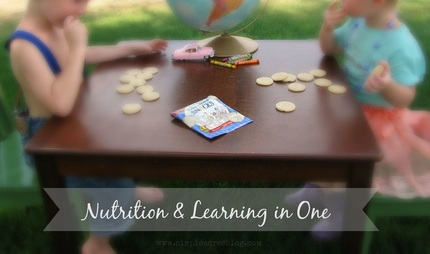 Nutrition and learning with cookies.
