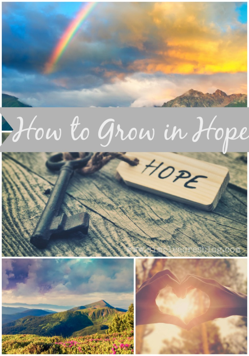 growing in hope