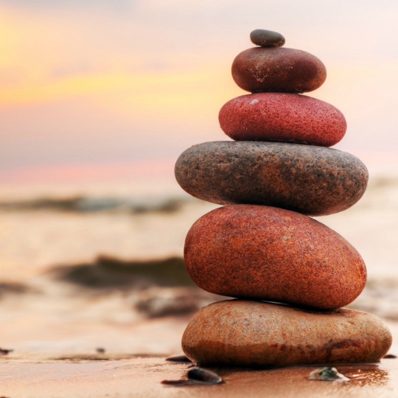 How to find balance in life.