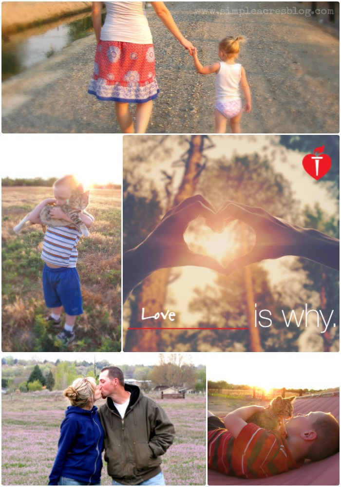 Love is my why to choose health with the american heart association.