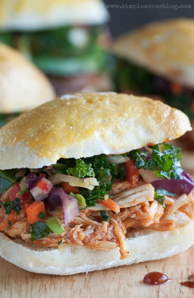 pulled bbq chicken sandwich recipes