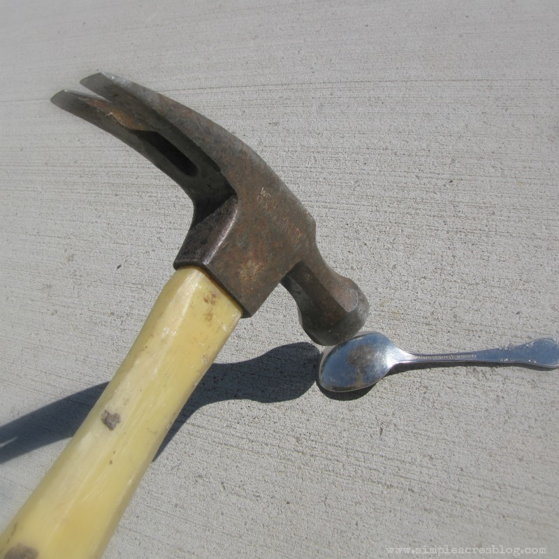 hammer spoon project diy