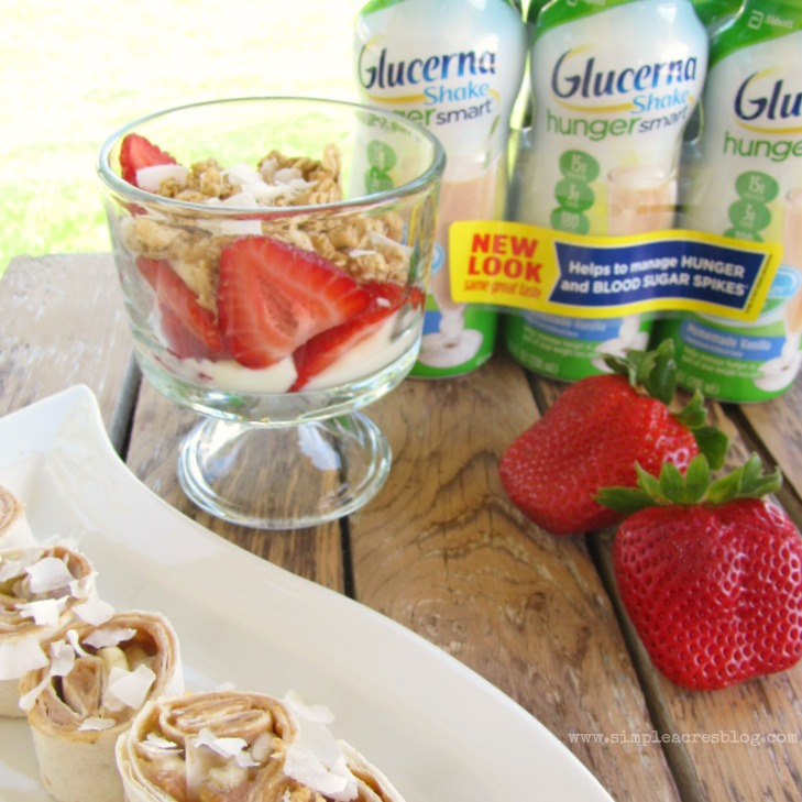 glucerna and healthy snacks