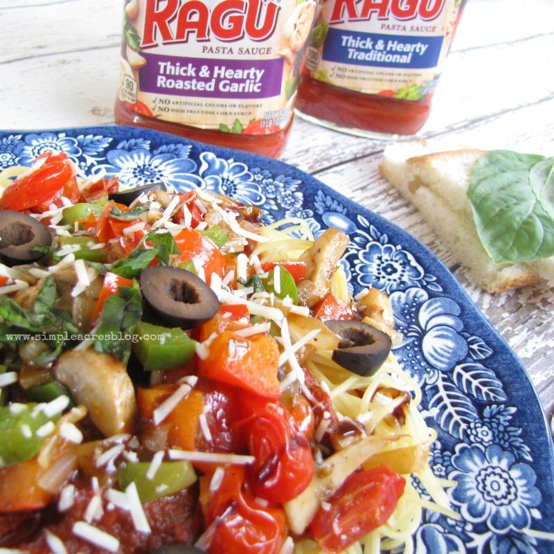 ragu and pasta