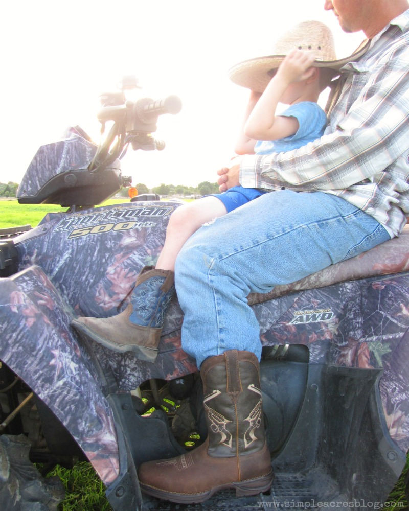 country life and cowboy boots