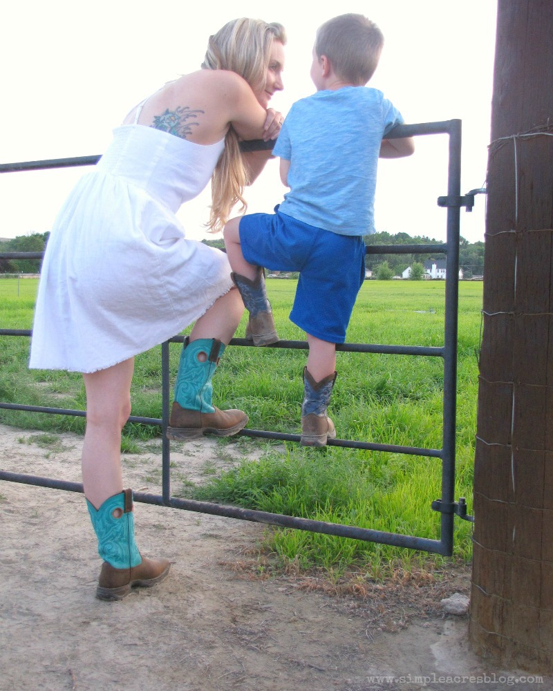 mothering and farming