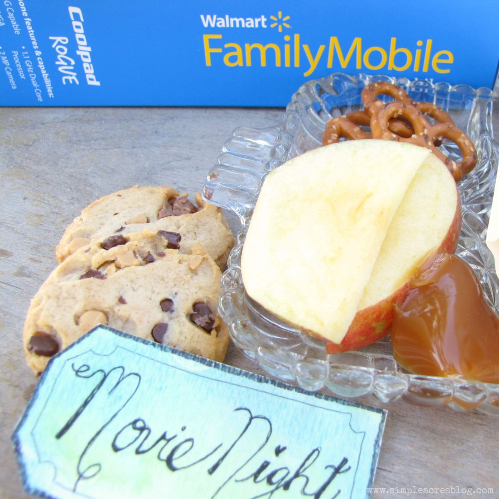 summer movie night with walmart family mobile