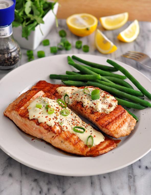 salmon bbq