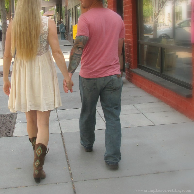 date on the town
