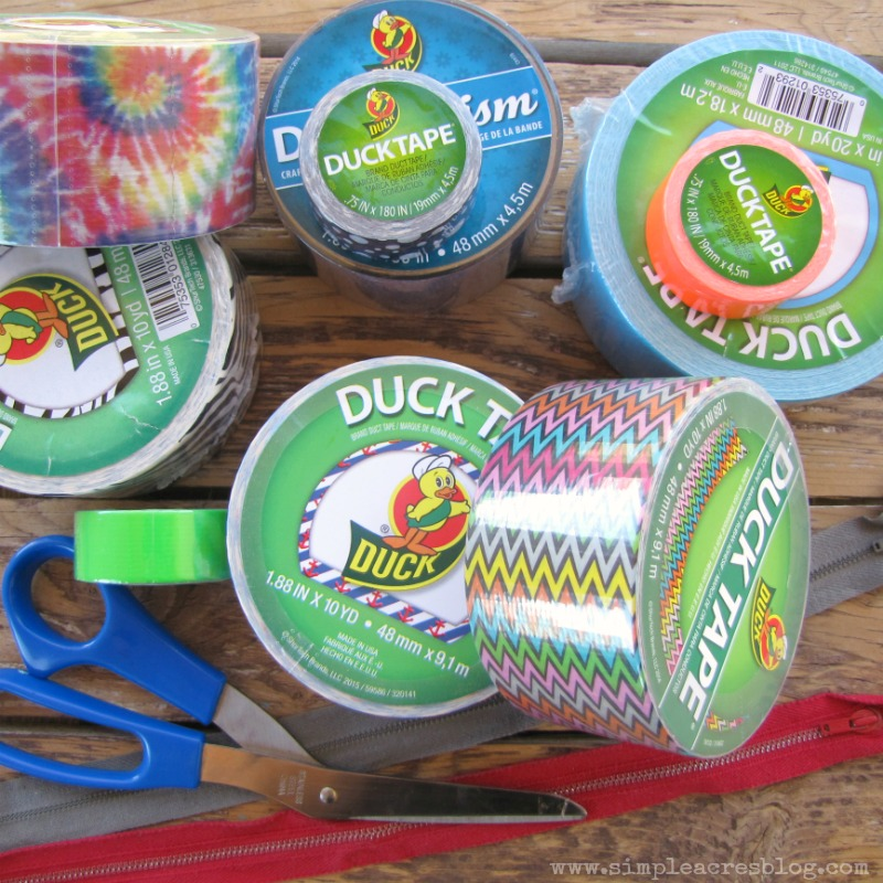 duck tape art