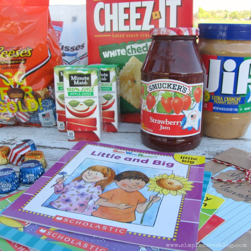 scholastic books and food
