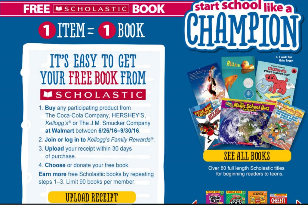 scholastic books for kids