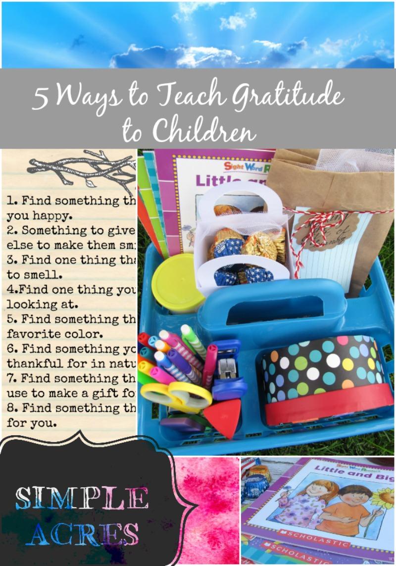 teaching giving to kids