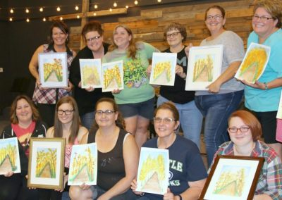 paint-party-with-church-group