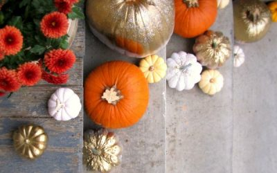 Autumn Pumpkin Makeover DIY