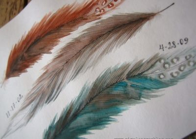 feather-art