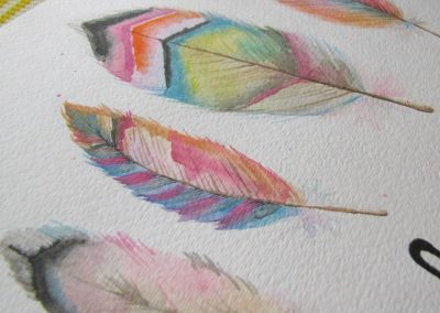 watercolor-feather-art