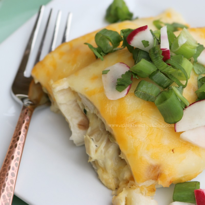 white-chicken-and-spinach-enchilidas