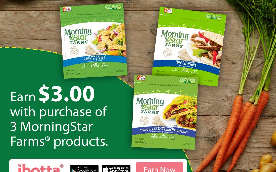 "New Year ""Vegolutions"" with MorningStar Farms®"