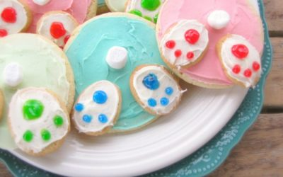 Spring Bunny Bottom Sugar Cookies