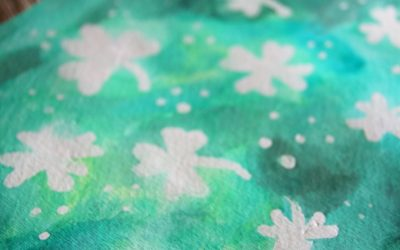 Watercolor Resist with Masking Fluid