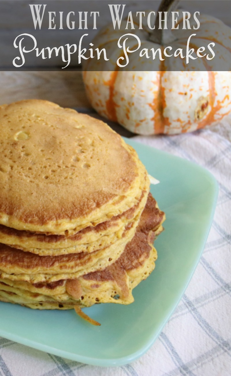 Weight watchers pumpkin pancake recipe midlife healthy for Recipes with minimal ingredients