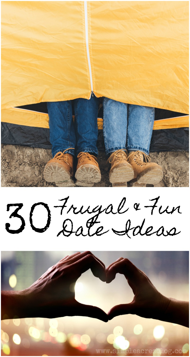Frugal and fun date ideas simple acres blog do you ever find yourself stumped for something to do with the love of your life i can attest to feeling that way and although i love just snuggling up at solutioingenieria Choice Image