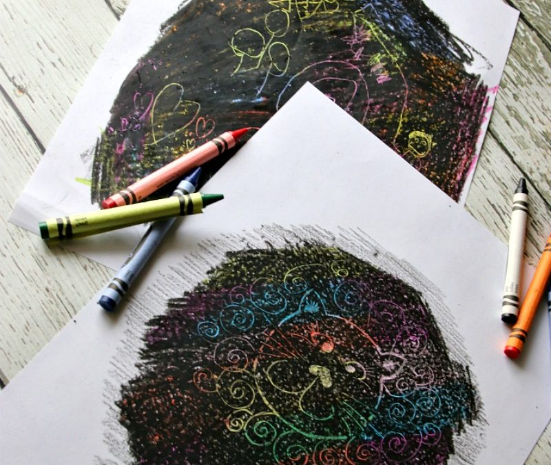 How to Create Scratch Art for Kids