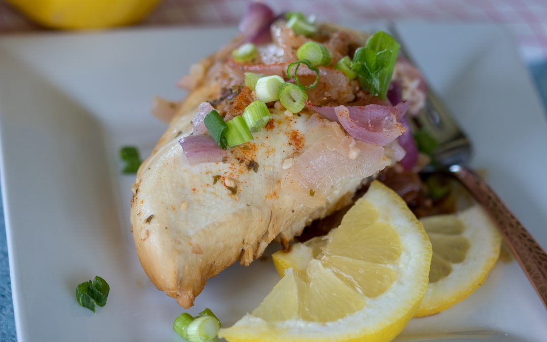 Instant Pot Honey Lemon Chicken Recipe