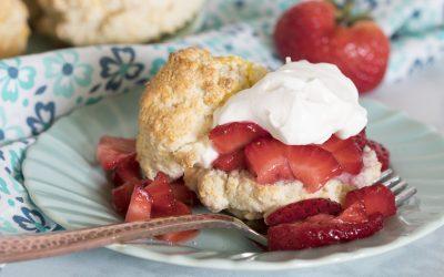 Simple Strawberry Shortcake Recipe