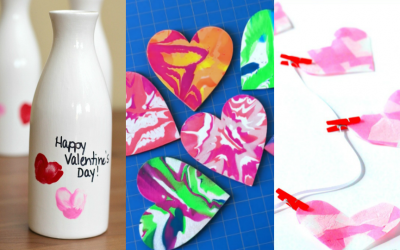 15 Simple Heart Crafts for Kids