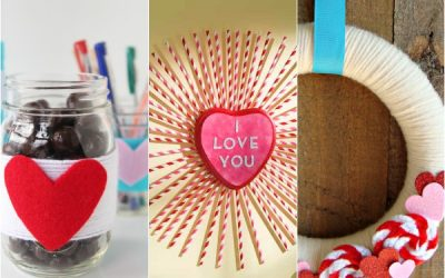 10 Simple Valentine's Day Decor Projects