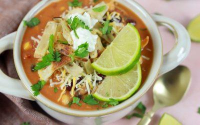 How to Make Easy & Delicious Crockpot Chicken Tortilla Soup