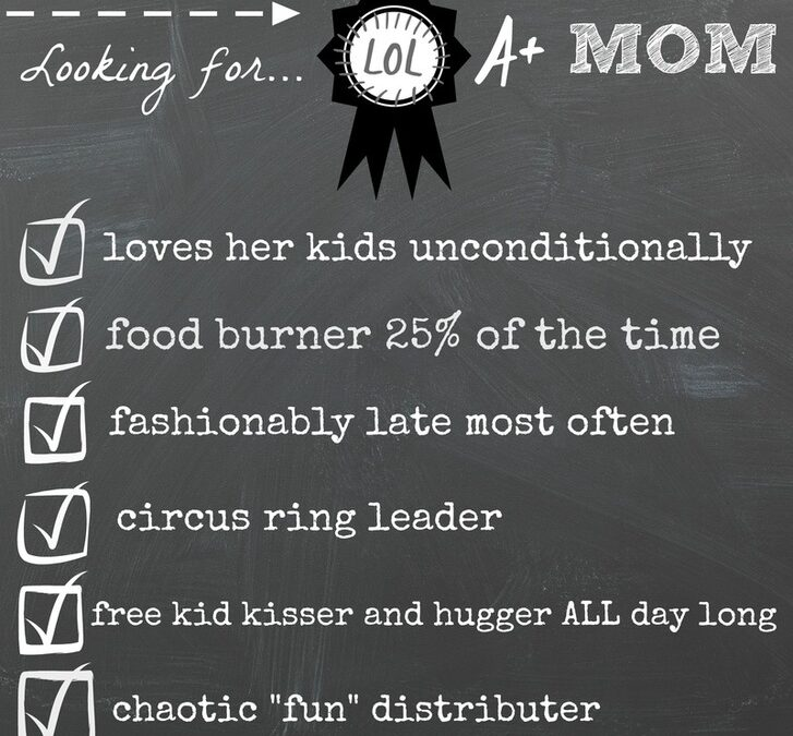 Well…yes…I'm THAT mom…